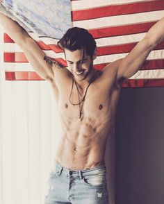 Instagram of the Day: God Bless America and This Guy's Abs