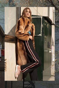 Shop our edit of the must-have trend-driven coats this season has to offer to stay warm and stylish in all the way through autumn and winter. Air Max 97, Nike Air Max, Tomboy Chic, Stay Warm, Fur Coat, Topshop, Sporty, Stylish, Womens Fashion