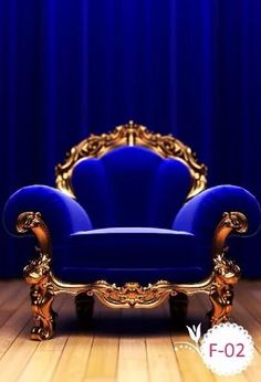 Home Decoration In Pakistan Victorian Furniture, Antique Furniture, Cool Furniture, Furniture Plans, Royal Blue And Gold, Blue Gold, Royal Blue Color, Royal Chair, Royal Sofa