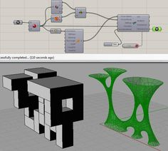 How to create nodes/bone structure like this? - Grasshopper