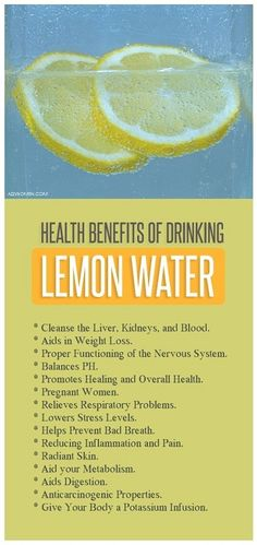 Lemon water sounds like a good idea, Lemons are vitamin C rich citrus fruits that enhance your beauty, by rejuvenating skin from within