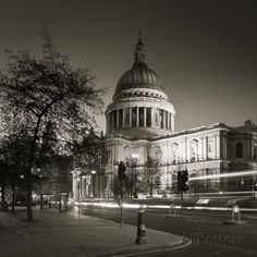 St. Paul's Cathedral, London, England Photographic Print