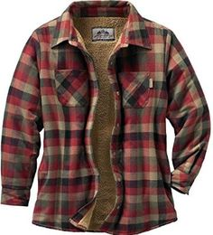 Legendary Whitetails Women's Open Country Shirt Jacket Mapleleaf Plaid X-Small