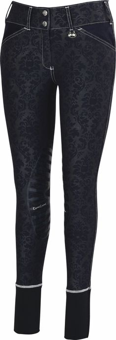 The Lexington Horse - Equine Couture Natasha Damask Breeches, $80.95 (http://www.lexingtonhorse.com/equine-couture-natasha-damask-breeches/)
