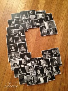 My friend asked me to make a photo collage that she found on Pinterest for her daughter's second birthday party. Of course, I quickly obli...
