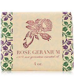 Saipua - Rose Geranium Soap - 4 oz