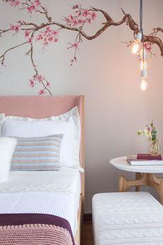 Art Deco Interior Bedroom, Bedroom Wall Designs, Room Design Bedroom, Bedroom Furniture Design, Bedroom Decor, Interior Design, Simple Wall Paintings, Diy Wall Painting, Bedroom Colour Palette