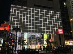 #uniqlo#building#tokyo Photo by #GabriellaSimone www.futureconceptretail.com