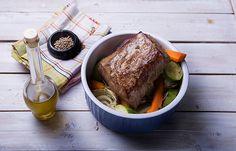 Ψητό κόντρα φιλέτο με λαχανικά και δεντρολίβανο Kai, French Toast, Beef, Cooking, Breakfast, Food, Meat, Kitchen, Morning Coffee