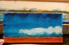 Watercolor Original Abstract Landscape by ElissaSueWatercolors, $18.00