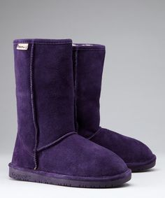 Take a look at this BEARPAW Eggplant Emma Boot by BEARPAW on #zulily today!