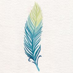Ombre Feather