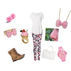 Cutie by raquelsday on Polyvore featuring polyvore, fashion, style, Witchery, MANGO, Sole Society, Chanel, Ice-Watch and Betsey Johnson