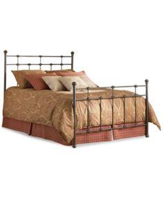 Claremont Hammered Brown Queen Metal Bed