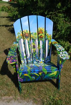Great Champlain Island Arts Ord. Adirondack Chair Raffle.. 2010. VT