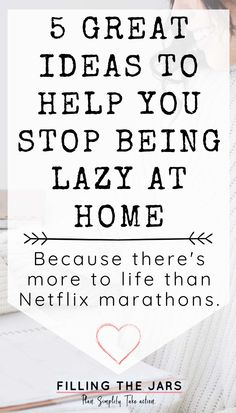 5 ideas for how to stop being lazy at home. Inspiration, tips, and motivation to get yourself off the couch and back to being a productive human again. How to feel productive when you find yourself at home for weeks or months at a time. #dailyroutines #motivation #intentionalliving #lazy Behavioral Neuroscience, How To Overcome Laziness, Stop Being Lazy, Health And Wellbeing, Mental Health, Self Development, Personal Development, How To Stop Procrastinating, Lists To Make