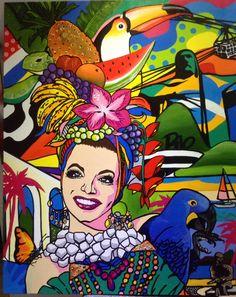 Carmen Miranda art pop