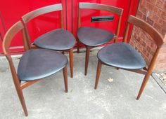 Currently on Ebay Vintage Retro Danish Mid Century Frem Rojle Dining Chair Hans Olsen Rosewood