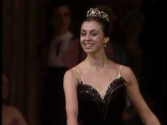 Nina Ananiashvili in Swan Lake, Odile Variation    Love her technique and her timing!