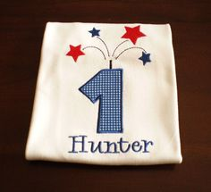 Boys  4th of July  Birthday Shirt Choose by thesimplyadorable, $24.00