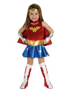 BABY-GIRLS - WONDER WOMAN TODDLER COSTUME HALLOWEEN COSTUME - Click image twice for more info - See a larger selection womens  pirate costume at  http://costumeriver.com/product-category/womens-pirate-costume/ - womens, holiday costume , event costume , halloween costume, cosplay costume, classic costume, scary costume, pirate, classic costume, clothing