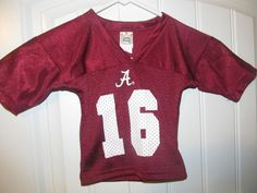 Alabama Crimson Tide Football jersey - Little King Infant 6 months   LittleKing  AlabamaCrimsonTide Toddler 0d9cf11bb