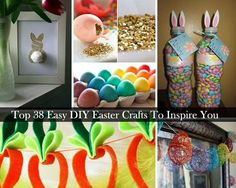 "Easter is just around the corner. Easter is that kind of a holiday to celebrate a great time with your family. From this article ""Top 38 Easy DIY Easter Crafts To Inspire You"", you will find that Easter crafts are more than just cute Easter bunnies and egg dyeing, you can do many. Some of […]"