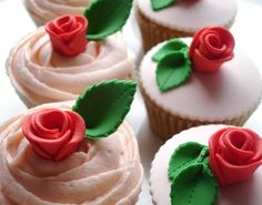 Lady cupcakes .