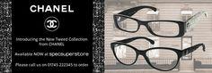 Chanel Tweed Eyeglass Frames : Ana Hickmann eyewear! #sunglasses #womensfashion # ...