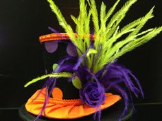 Halloween Polka Dot Mini Top Hat  Great for by daisyleedesign, $25.95