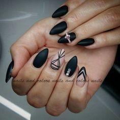 Black mat.