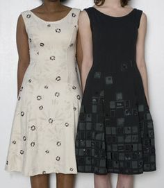 Alabama Chanin. I love the higher neck line as opposed to my tank dress