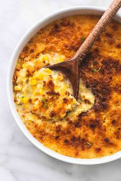 This simple and tasty baked parmesan creamed corn is an delicious twist on one of your favorite holiday side dishes. Your guests will rave about this one!
