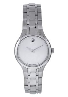 Price:$413.94 #watches Movado 606451, This Movado timepiece is uniquely known for it's classy and sporty look. It's accentuated design has made it one of the best sellers year after year.
