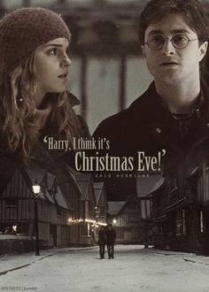 """Harry Potter and Hermione """"-Harry, I think it's Christmas Eve -Said Hermione Theme Harry Potter, Harry Potter Jokes, Harry Potter Pictures, Harry Potter Aesthetic, Harry Potter World, Albus Severus Potter, Harry Potter Hermione Granger, Ron Weasley, Draco Malfoy"""