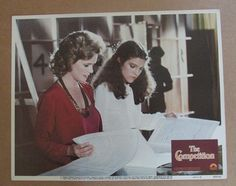 THE COMPETITION MOVIE POSTER LOBBY CARD #7 1980 ORIGINAL 11x14 RICHARD DREYFUSS #lobbycard