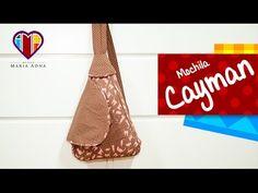 Bolsa mochila de tecido Cayman - Maria Adna Ateliê - Cursos e aulas de bolsas e mochilas de tecido - YouTube