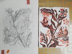 Oana Ispir (@oanaispir) • Fotografii şi clipuri video Instagram Moose Art, Art, Linocut