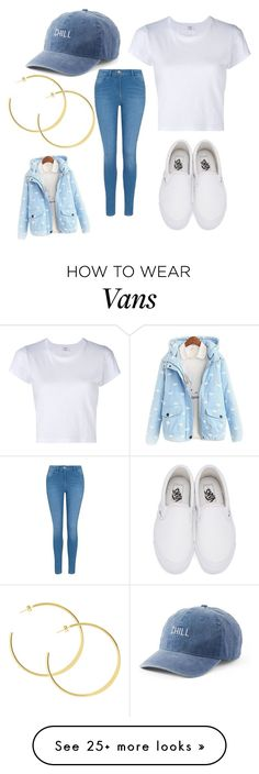 """""""Untitled #389"""" by liveloud8299 on Polyvore featuring RE/DONE, George, Vans and SO"""
