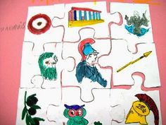 5o - 7o ΝΗΠΙΑΓΩΓΕΙΑ ΤΥΡΝΑΒΟΥ: Στα μονοπάτια της Μυθολογίας ..... συνέχεια