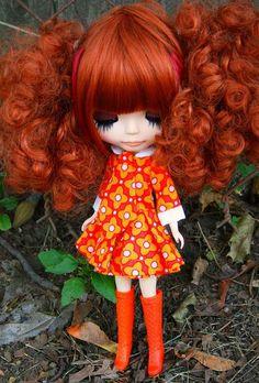 Blythe, custom blythe, caracterización blythe, doll clothing, ropa de muñeca, wedding, boda, bride, pelos, peinados, hair, harido