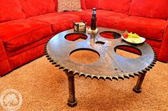 Hey, I found this really awesome Etsy listing at https://www.etsy.com/listing/180733262/industrial-gear-table