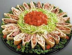 Pita bread sandwich platter...
