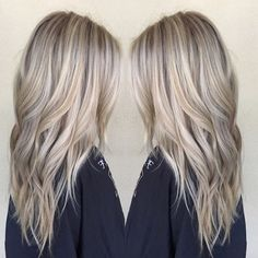 Ashy Blonde Hair Color