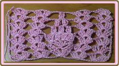 Muestra a crochet rosa
