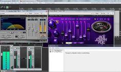 808 Bass in Reaper DAW using Waves plugins