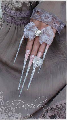Stunning white stilettos