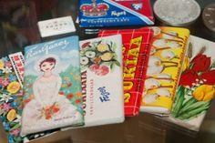 Fazerin suklaalevyjä 1960-luvulta. Vintage Toys, Retro Vintage, Retro Candy, Good Old Times, Old Ads, Finland, Childhood Memories, Nostalgia, Old Things
