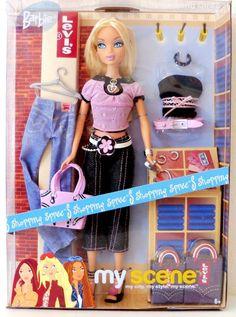 my+scene+dolls   Mattel My Scene Barbie Doll In Levis Jeans & Bag