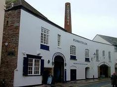 Plymouth Gin distillery, Plymouth, UK